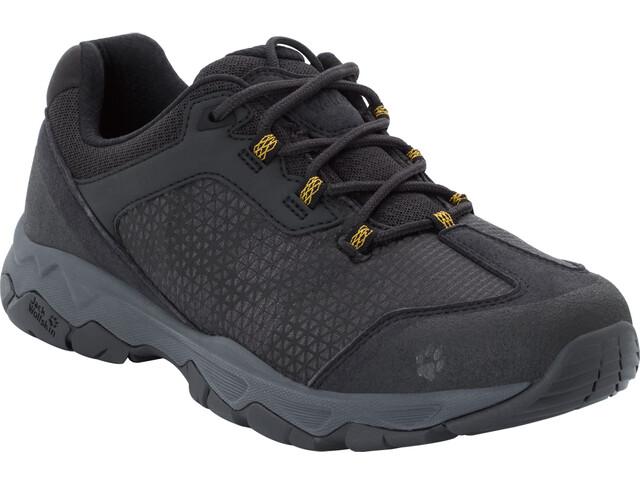 Jack Wolfskin Rock Hunter Low-Cut Schuhe Herren burly yellow xt